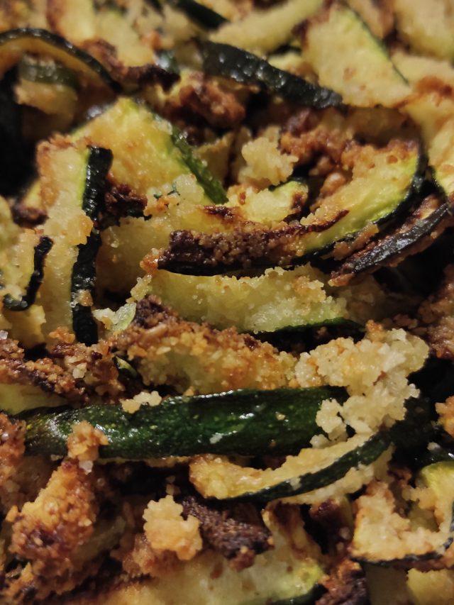 Zucchine sabbiate